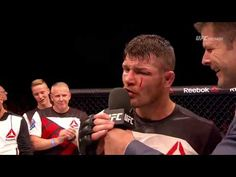 Fight Night Glasgow: Michael Bisping and Thales Leites Octagon Interview - YouTube