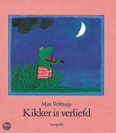 Kikker Is Verliefd Max Velthuijs. Waarin Kikker een reuzesprong wil maken. Dutch Language, Nocturne, Childcare, Childrens Books, My Books, School, My Favorite Things, Reading, Creative