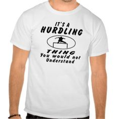 67b680d5 It's a Hurdling thing you would not understand. T Shirt American, Star, Mens