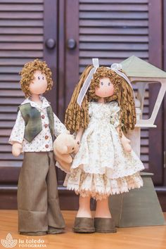 Dani & Duda Enamorados (projeto) - Casinha de Bonecas