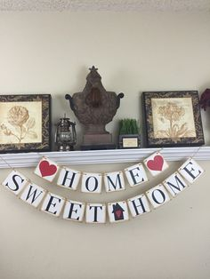 sweet welcome to your new home gift ideas. Home Sweet Banner  Welcome home New Gift by WeefersDesigns on Etsy Pin Deborah Kramer Bee You Designs Pinterest