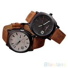 >> Click to Buy << Hot Sales Unisex Men's Stylish Quartz Analog Faux Leather Band Wrist Watch #Affiliate