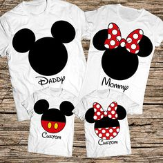 Disney Family Shirts, Family disney world shirts, Matching Family Disney Shirts, Personalized Disney Shirts for Family and Women, Family Shirts , Disney shirts, Disney. Awesome family gift suitable for every special occasions such as birthday, Christmas, Family vacation, and every other