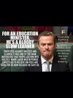 Pyne  Dip Loser Abbott Roadkill #auspol Your Seat is Gone