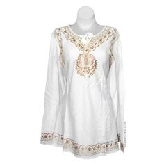 Flowy Embroidered Kurta on Sale for $34.95 at HippieShop.com