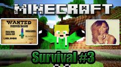 Minecraft - [Survival #3] - [Diamantes E Zumbi BungJump]