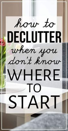 How to Declutter Your Home When You Feel Stuck - 11 Simple Steps - 11 ways how to declutter your home when you feel stuck in the mess. How to declutter when you're - Declutter Bedroom, Declutter Your Home, Organizing Your Home, Organizing Ideas, Decluttering Ideas, Organising, Getting Rid Of Clutter, Getting Organized, Kids Room Organization