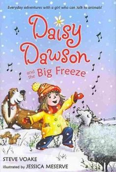 Daisy Dawson and the big freeze When one of the lambs on the farm gets lost on the other side of the river, Daisy, who can communicate with animals, and her dog Boom help return him to the flock.