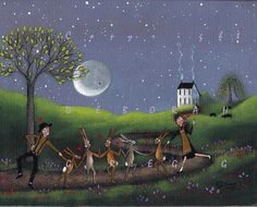 """"""" Mad As A March Hare """"  by Deborah Gregg"""