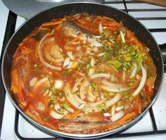Fish in hot-sweet-sour-spicy sauce