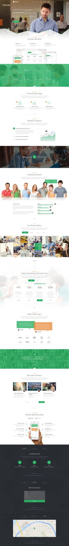 Rosetta a multipurpose Wordpress template. You can use it for promotion agencies, analysts, marketing, portfolio, and much more. The template is based on Bootstrap framework with the use of modern technology.