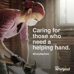See how Whirlpool helps Habitat for Humanity give families the tools they need to thrive, and care. #EveryDayCare