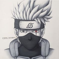 Kakashi drawing i've found Kakashi Drawing, Naruto Sketch Drawing, Naruto Drawings, Anime Drawings Sketches, Anime Sketch, Cartoon Drawings, Anime Naruto, Naruto Art, Anime Character Drawing