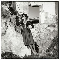 Photographer Michel Perez captures the essence of Sicilian life in the 1960s for Bambi magazine. Perez's photo series, A Sicilian Adventure, features Romanian model Catrinel Menghia in captivating scenes. Browsing through the photos, I feel like I'm looking at stills from a Marcello Mastroianni and Sophia Loren film. The outfits are period-appropriate and Menghia's assets are flaunted in the same fashion as Loren in her most popular Italian cinematic roles.               Michel Perez's…