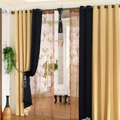 Best place to buy affordable curtains. Inexpensive Curtains, Blackout Curtains, Curtain Ideas, Living Room, Places, Home Decor, Blinds, Mesas, Dibujo