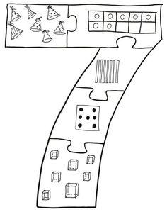 Top 40 Examples for Handmade Paper Events - Everything About Kindergarten Preschool Learning Activities, Preschool Curriculum, Preschool Worksheets, Preschool Activities, Number Sense Kindergarten, Beginning Of Kindergarten, Teaching Kindergarten, Numbers Preschool, Math Numbers