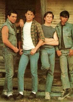 The outsiders preferences and stuff😜 - Age you met - Wattpad The Outsiders Preferences, The Outsiders Imagines, 80s Movies, Good Movies, The Outsiders Cast, The Outsiders Sodapop, Die Outsider, Image Film, Ralph Macchio