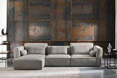 Prime Home Budapest Divani Design, Big Sofas, Luxury Decor, Modular Sofa, Upholstered Furniture, Drawing Room, Corner Sofa, Modern Luxury, Wall Treatments