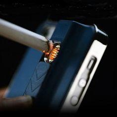 iPhone Lighter Case ... $6.99 ...  http://www.realcoolgadgets.com/iphone-lighter-case/