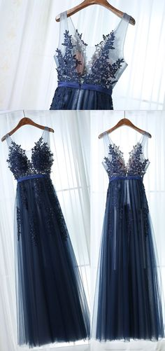 Simple Prom Dress,A Line Sleeveless Dark Navy Prom Dress,Applique Long Prom Dresses,Evening Dresses, Shop plus-sized prom dresses for curvy figures and plus-size party dresses. Ball gowns for prom in plus sizes and short plus-sized prom dresses for Dark Blue Prom Dresses, A Line Prom Dresses, Tulle Prom Dress, Lace Dress, Formal Dresses, Navy Blue Bridesmaid Dresses, Navy Formal Dress, Long Dresses, Casual Dresses
