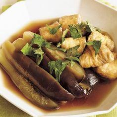 【簡単レシピ】疲れた胃腸に染みる~! じんわりおいしい「なすと油揚げのさっと煮」 - レタスクラブニュース