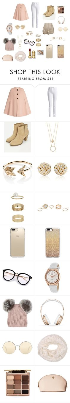 """""""Cute Look 4 U!!!"""" by sidneycherenfant on Polyvore featuring Roksanda, Barbour International, JustFab, Kate Spade, EF Collection, Blue Nile, Miss Selfridge, GUESS, Speck and Casetify"""