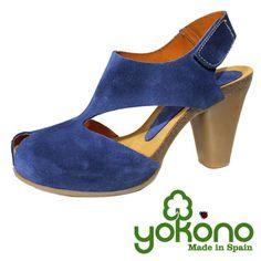 Sandalia azul colección ARUBA