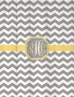 grey & yellow chevron bathroom themes - Google Search