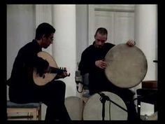 Young Palestinian oud virtuoso Ahmad Al Khatib in a duet with percussionist David Kuckhermann. SO beautiful!