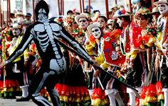 Skeletons, Macabre, Skulls, Ethnic, Carnival, Costumes, Beautiful, Ideas, Home