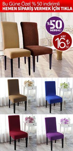 #kaliteli · Pratikliği ile göze çarpan sandalye kılıfları, farklı renk seçenekleri ile her sandalye için harika görüntüler oluşturmaktadır. | http://sandalyekilifim.com/