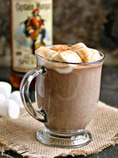 Hungry Couple: Sweet, Spiked and Spicy Hot Chocolate #CaptainsTable