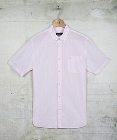 Fred Perry - Short Sleeve Seersucker Stripe Shirt