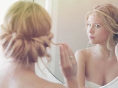 Simple Roll with Headband Wedding Hair And Makeup, Wedding Beauty, Bridal Hair, Up Hairstyles, Pretty Hairstyles, Wedding Hairstyles, Hair Dos, My Hair, Elegant Updo