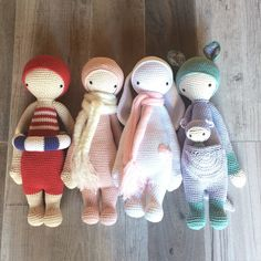 lalylala dolls made by Cecilia H. / crochet patterns by lalylala