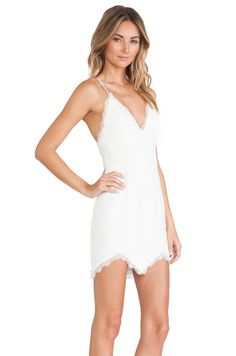 NBD NBD Look Back At It Dress in Ivory | REVOLVE