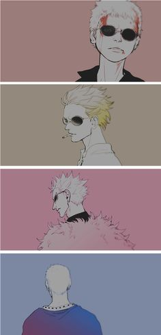 Doflamingo evelution