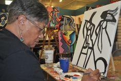 BYOB Painting Classes set in our Atlanta studio.