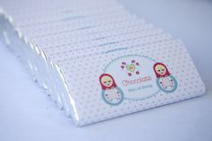 Personalised Babushka Chocolate Bars