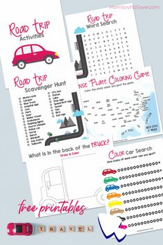 Looking for Road Trip Activities for Kids? Pick up These Free Printable Travel Games | MomsWhoSave.com #travel #vacation #roadtrip #free #printables Fun Games For Kids, Activities For Kids, Travel And Leisure, Travel Tips, Road Trip Activities, Kid Picks, Parent Resources, Creative Kids, Happy Kids
