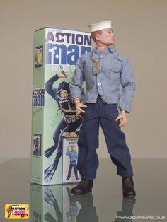 "Vintage Palitoy 'Action Man' action-figure doll 1/6-scale 12"" #toy #nostalgia"