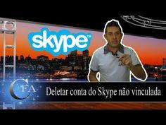 Deletar conta do Skype não vinculada ~ CANAL FORADOAR