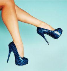 Tacones De Moda Azuless CentralMODA.COM