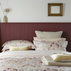 Christy Meadow Duvet Cover Set Blush