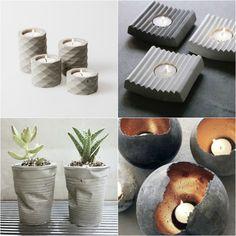 gather moments : DIY inspirace: beton