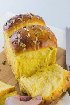 Tangzhong Pumpkin Loaf - Christine's Recipes: Easy Chinese Recipes | Easy Recipes