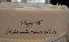 Kakkuvelhottaren Puoti Birthday Cake, Desserts, Food, Tailgate Desserts, Birthday Cakes, Deserts, Meals, Dessert, Yemek