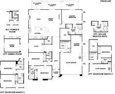 Delightful Richmond American Homes Magnolia Floor Plan