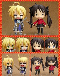 Lucky Star meets Fate/stay night Cosplay Set Nendoroids [034]