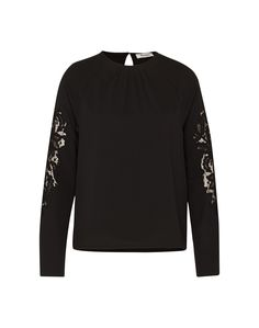 EDITED The Label Bluse 'Cory' in Schwarz | ABOUT YOU